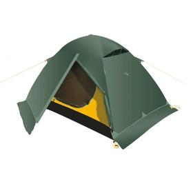 Палатка BTrace Ion 2+, двухслойная, двухместная, цвет зеленый