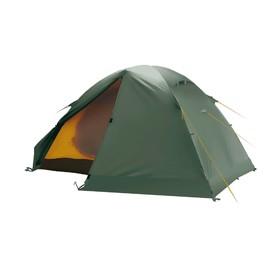Палатка BTrace Solid 2+, двухслойная, двухместная, цвет зеленый