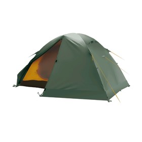 Палатка BTrace Solid 3, двухслойная, трёхместная, цвет зелёный