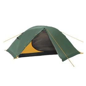 Палатка BTrace Spin 2, двухслойная, двухместная, цвет зеленый