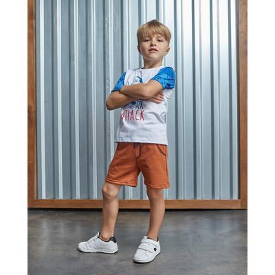 """Шорты для мальчика KAFTAN """"Surf"""" р.30 (98-104 см), коричневый"""