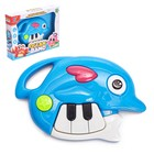 Toy musical piano Dolphin light and sound effects