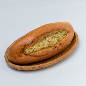 Baguette with cheese and garlic, 250g