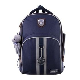 Рюкзак школьный с эргономичной спинкой Kite 706, 38 х 29 х 16.5, для мальчика College line boy, синий