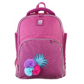 Рюкзак школьный с эргономичной спинкой Kite 706, 38 х 29 х 16.5, для девочки Fruits, розовый