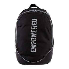 Рюкзак молодежный GoPack 120, 43 х 28 х 22, Empowered, чёрный