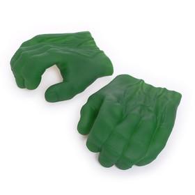 Накладки на руки «Зеленый монстр»
