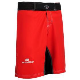 Шорты ММА BoyBo, размер XXS, цвет красный