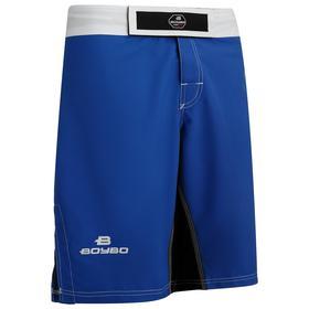 Шорты ММА BoyBo, размер XXS, цвет синий