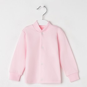 Кофточка детская, цвет розовый, рост 62 см