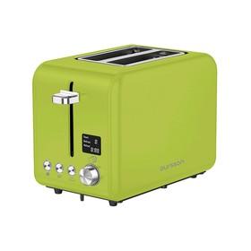 Тостер Oursson TO2130D/GA, 950 Вт, 2 тоста, 9 режимов, разогрев, разморозка, зелёный