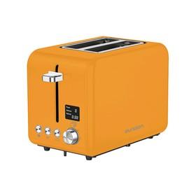Тостер Oursson TO2130D/OR, 950 Вт, 2 тоста, 9 режимов, разогрев, разморозка, оранжевый
