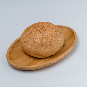 Hamburger bun with sesame seeds 90 gr