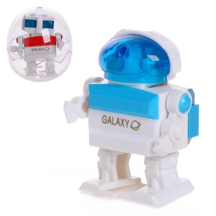 Игрушка заводная «Робот», в яйце, МИКС