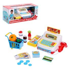 Игровой набор «Касса-калькулятор» с аксессурами