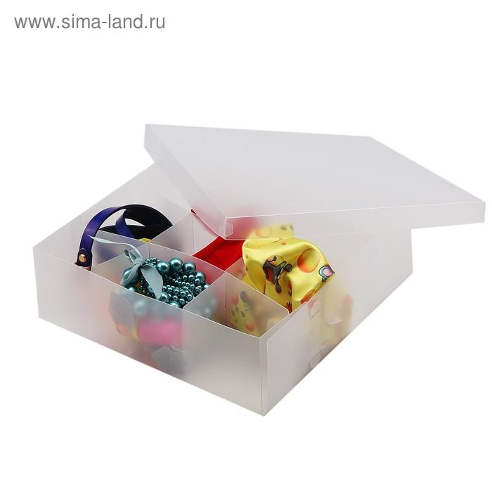 """Короб для хранения """"Шкатулка с сюрпризами"""", 12 ячеек"""