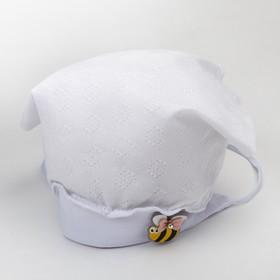 Косынка для девочки, цвет белый, размер 40-42