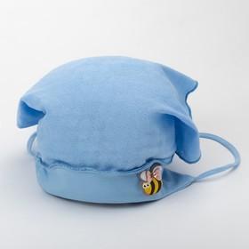 Косынка для девочки, цвет голубой, размер 40-42