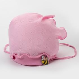Косынка для девочки, цвет розовый, размер 40-42