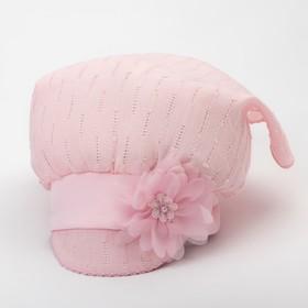 Косынка для девочки, цвет розовый, размер 46-48