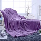 Плед Flounce, размер 220 × 230 см, фиолетовый