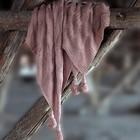 Плед «Вязка», размер 200 × 240 см, розовый