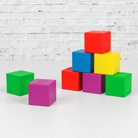 Кубики деревянные «Классика» 12 шт (5 цв.)