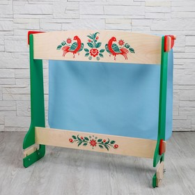 Ширма для кукольного театра, 65 × 28 × 59 см, цветная