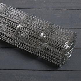 Сетка оцинкованная, сварная 0,5 × 10 м, ячейка 75 × 75 мм, d = 1 мм, металл