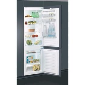 Холодильник Indesit BIN18A1DIF, встраиваемый, двухкамерный, класс А+, 273 л, 2 двери, белый