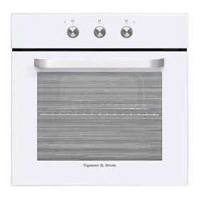 Духовой шкаф Zigmund & Shtain EN 114.611 W, электрический, 60 л, 8 режимов, гриль, белый