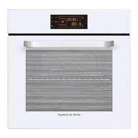 Духовой шкаф Zigmund & Shtain EN 133.512 W, электрический, 60 л, 8 режимов, гриль, белый