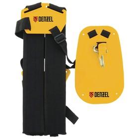 Ремень для бензиновых триммеров Denzel 96367, с защитой бедра, быстросъемный карабин Ош