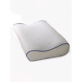 Подушка «Эргономика маленькая Гель напыление», размер 50 × 30 × 8/11 см