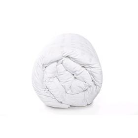 Одеяло утяжелённое с гранулами, размер 110 × 140 см, тик, белый