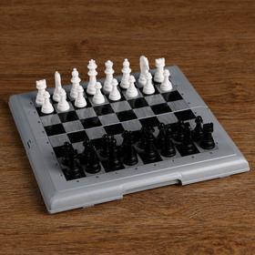 """Набор """"Шашки-Шахматы"""" в пластиковой коробке 21х1.7х31 см"""