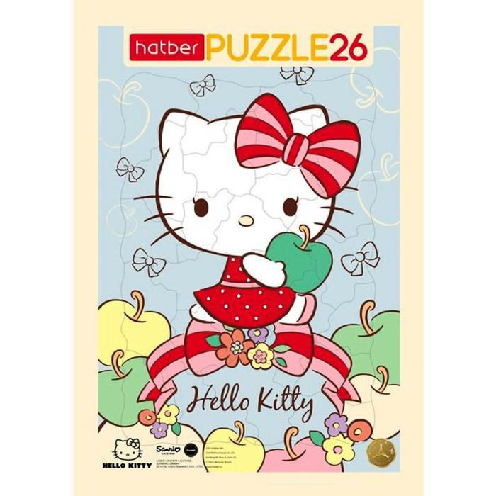 Пазл в рамке 26 элементов Hello Kitty