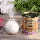 Шипучая бомбочка в банке, персидская соль, персик - фото 1634229