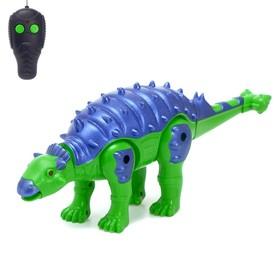 Динозавр радиоуправляемый «Робозавр», работает от батареек, МИКС