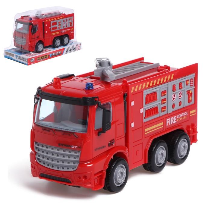 Машина инерционная «Пожарная служба» - фото 76294142