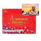 Алмазная мозаика с полным заполнением, 30 × 40 см «Величественный тигр»