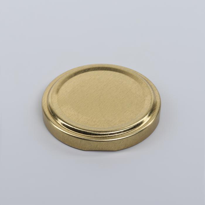 Крышка для консервирования «Елабуга», ТО-58 мм, винтовая, лакированная, цвет золотой - фото 490994