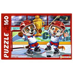 Пазл 160 элементов «Хоккей. Награждение»
