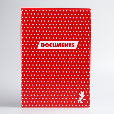 Cover for documents, Minnie mouse