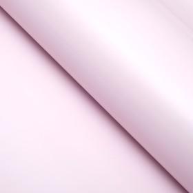 Бумага матовая, однотонная, 50 х 70 см. Розовая