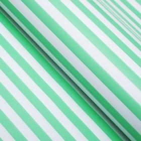 Бумага глянцевая, полоски, 49 х 70 см. зелёная в Донецке