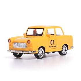 Машина инерционная «Такси», открываются двери, световые и звуковые эффекты