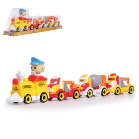 "The locomotive ""Fun journey"", battery powered MIX"