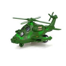 Вертолет инерционный «Воздушный патруль», световые и звуковые эффекты, МИКС