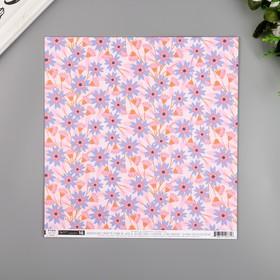 """Бумага для скрапбукинга Pink Paislee """"Horizon16"""" 30.5х30.5 см, 190 гр/м2"""